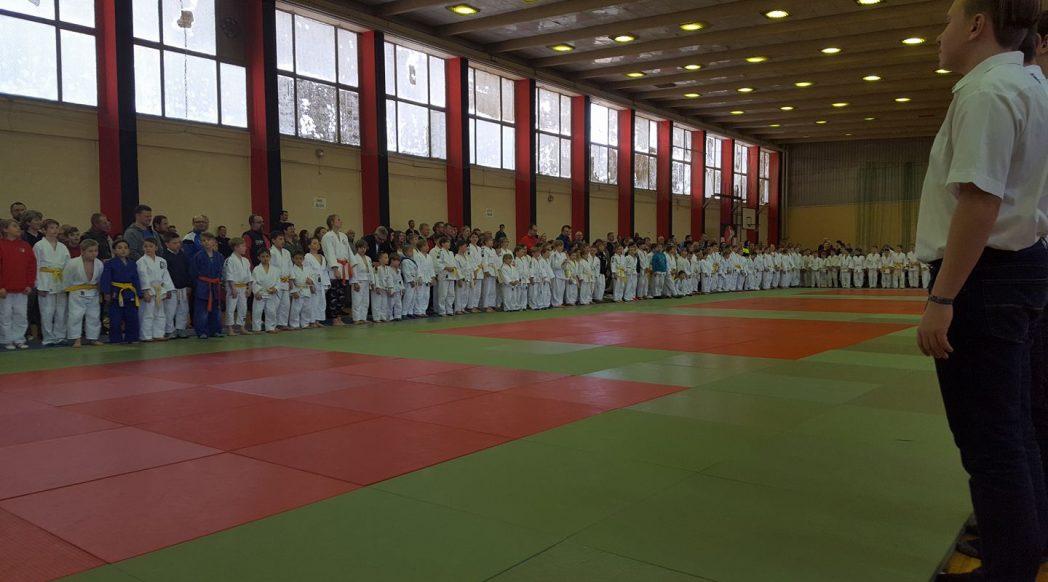 Tolle Beteiligung beim Judoturnier