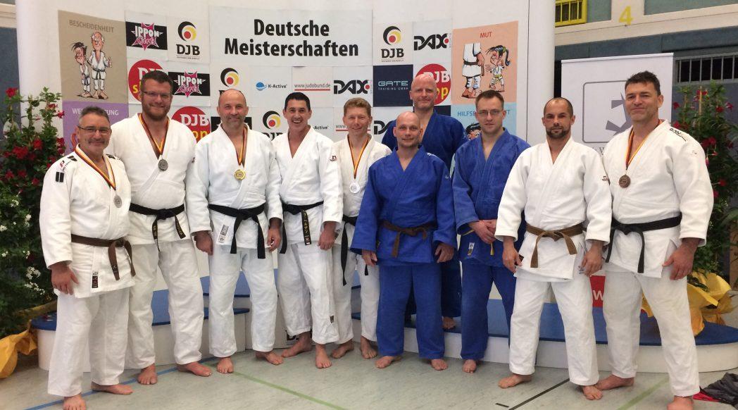 Alte Haudegen bei den Deutschen Meisterschaften Ü30